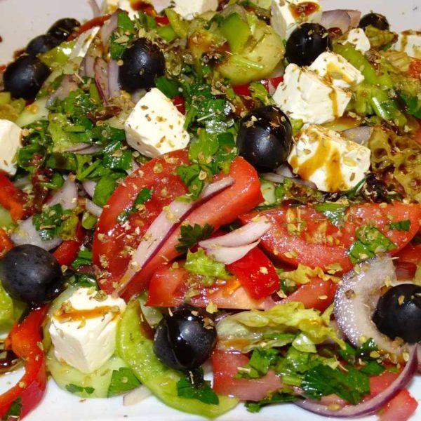 Salat Tamada - Vorspeisen und Salata im Georgischen Restaurant Tamada in Köln