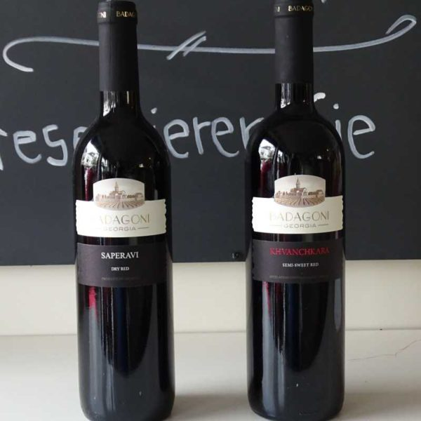 Rotwein und Weißwein: Wein aus Georgien - Georgisches Restaurant und Café Tamada in Köln - georgische Küche und Weine aus Georgien